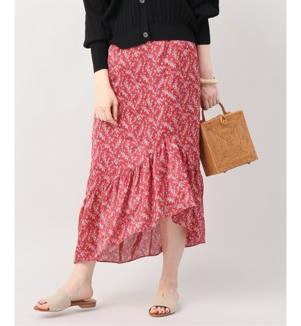 【ジョイントワークス/JOINT WORKS】 CLANE petit flower frill skirt