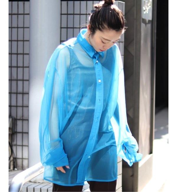 【NAME/ネーム】シアースムースジャージシャツ