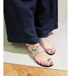【プラージュ/Plage】 ATP SNAKE トングサンダル◆ [送料無料]