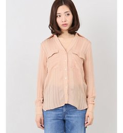 【プラージュ/Plage】PERSEVERANCEWポケットシャツ[送料無料]