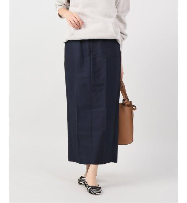 【プラージュ/Plage】 【Yurina Kawaguchi】M.CHAMBRAY C-PRESS スカート