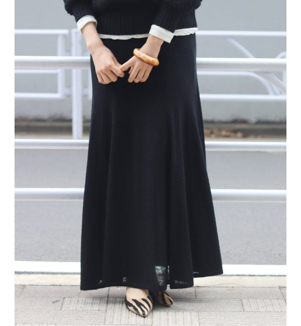【プラージュ/Plage】 loop yarn mermaid スカート◆