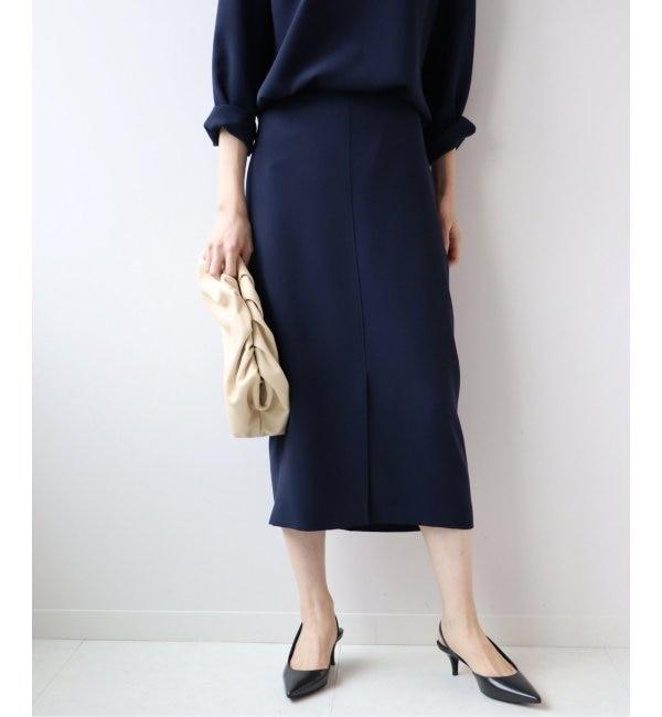 【プラージュ/Plage】 Double Cloth タイトスカート◆