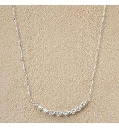 【デクーヴェルト/DECOUVERTE】 18KWG 0.3ct ダイヤモンド ネックレス [送料無料]