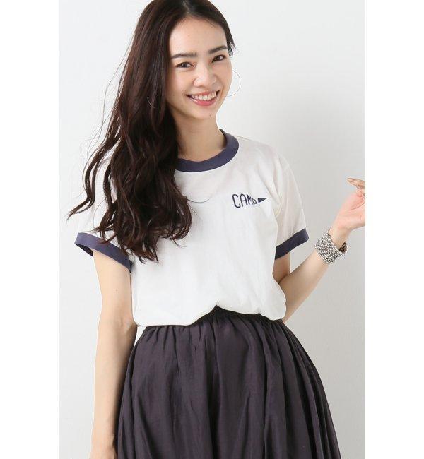 【イエナ/IENA】 CAMP CAMP STAFF RINGER Tシャツ [送料無料]