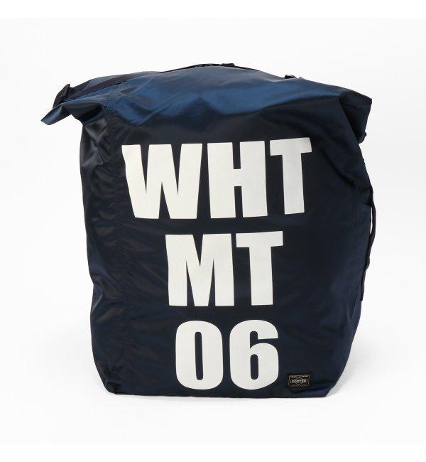 【イエナ/IENA】 White Mountaineering WMX PORTER 3WAY BAG [送料無料]