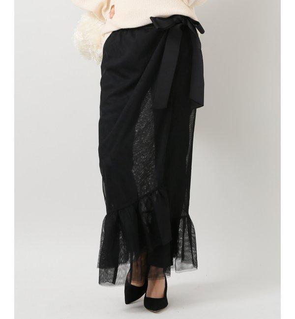 【イエナ/IENA】 TILLDAチュールスカート [送料無料]