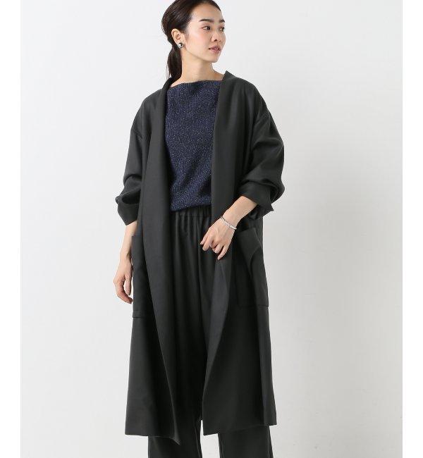 【イエナ/IENA】 AILE ダブルクロス 作務衣コート [送料無料]