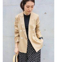 【イエナ/IENA】フレンチリネンジャケット◆[送料無料]