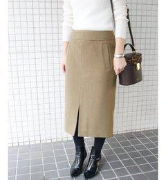 【イエナ/IENA】 モッサタイトミモレスカート◆ [送料無料]