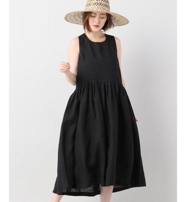 le vestiaire de jeanne robe a plis lin iena. Black Bedroom Furniture Sets. Home Design Ideas