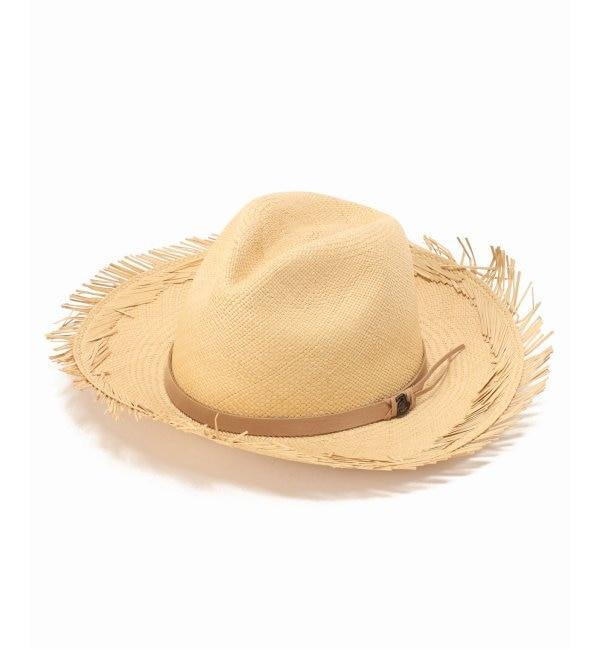 【イエナ/IENA】 Ecuaandino Sunshine Classic Leather Bandハット