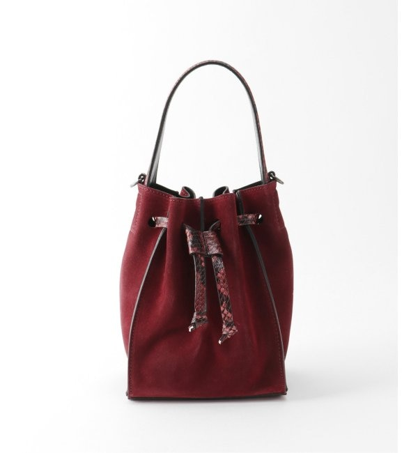 【イエナ/IENA】 【INNUE/イヌエ】 スエードミニ巾着バッグ