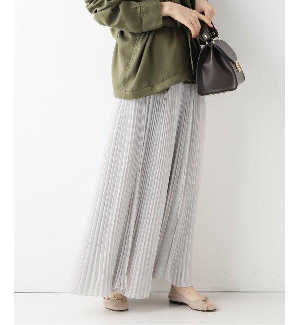 【イエナ/IENA】 【CLANE/クラネ】 CROWD フラワーロングスカート