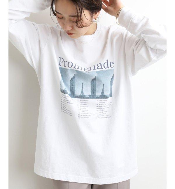 《予約》PROMENADE ロングスリーブ Tシャツ◆