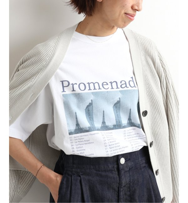 《予約》PROMENADE Tシャツ◆