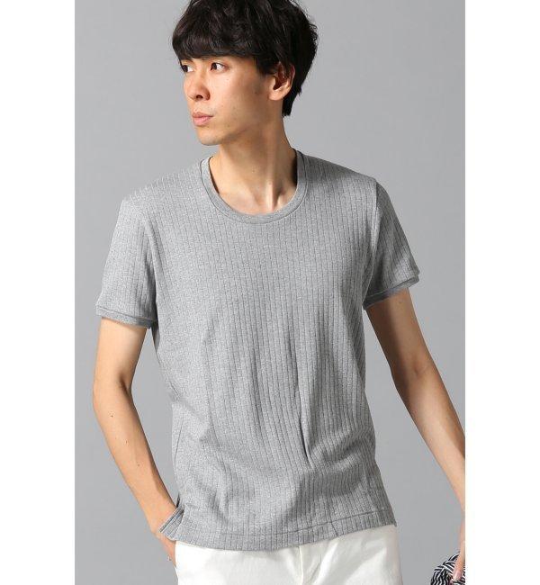 【エディフィス/EDIFICE】 ハリヌキスムースタイトクルーTシャツ [送料無料]