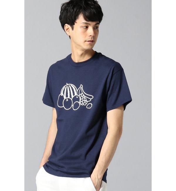 【エディフィス/EDIFICE】 NORITAKE*FS*ED FRESH FRUITS/Tシャツ [送料無料]