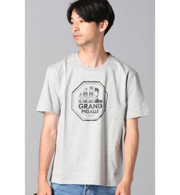 【エディフィス/EDIFICE】 GRAND PIGALLE HOTEL/グラフィックTシャツ [送料無料]