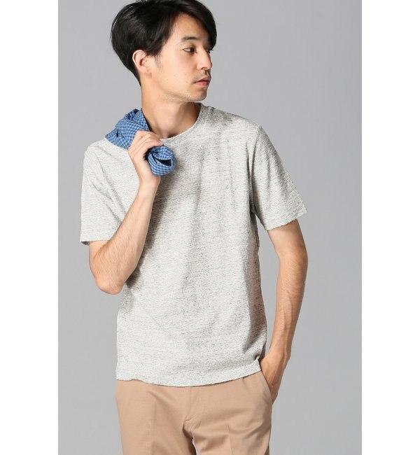 【エディフィス/EDIFICE】 ランダムパイルクルーネックTシャツ(追加) [送料無料]