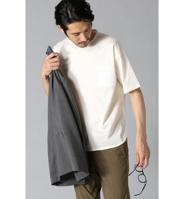 【エディフィス/EDIFICE】 WKED(ウィークエンド) 40/2天竺シルケットビッグTシャツ [送料無料]