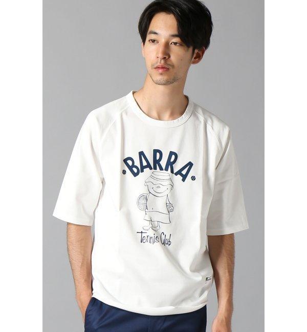 【エディフィス/EDIFICE】 BARRA/ラグランハーフスリーブTシャツ [送料無料]