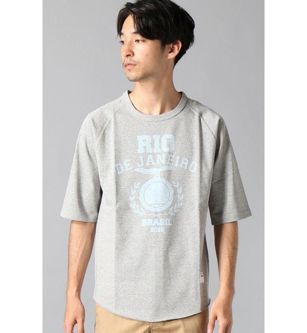 【エディフィス/EDIFICE】 RIO/ラグランハーフスリーブTシャツ [送料無料]