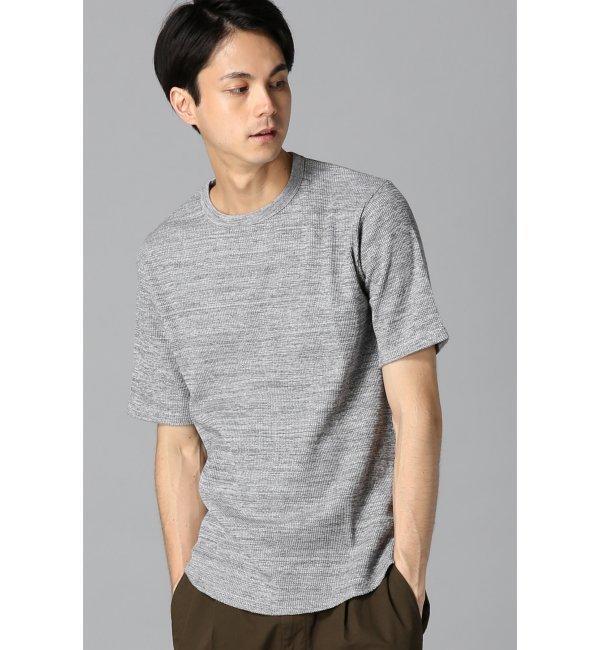 【エディフィス/EDIFICE】 ヨリモクワッフルTシャツ [3000円(税込)以上で送料無料]