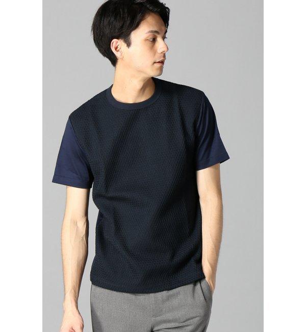 【エディフィス/EDIFICE】 ラッセルツイスト ドッキングTシャツ [送料無料]