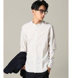 【エディフィス/EDIFICE】TINTORIAMATTEI.954ジャガードバンドカラーシャツ[送料無料]
