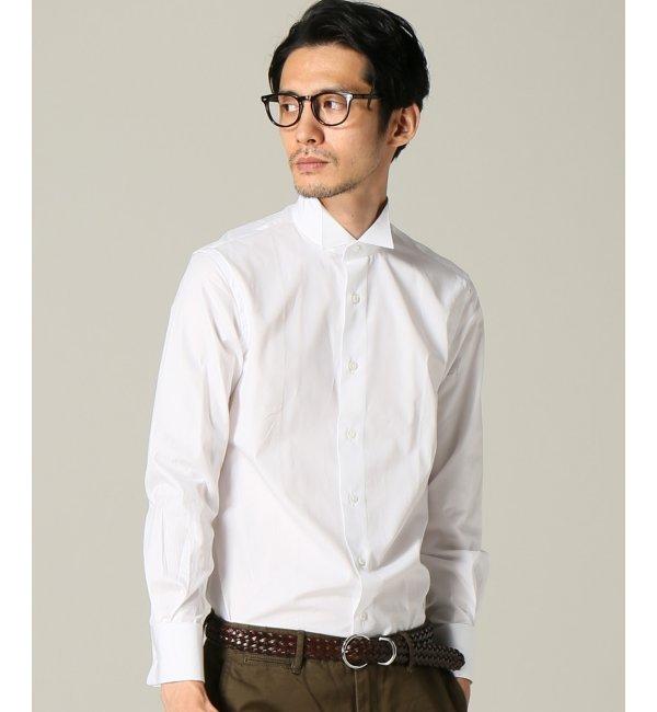 【エディフィス/EDIFICE】 ウイングカラー ポプリンシャツ [送料無料]
