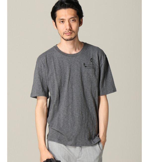 【エディフィス/EDIFICE】 JEAN ANDRE*EDIFICE ポケットTシャツ(ヒール) [送料無料]
