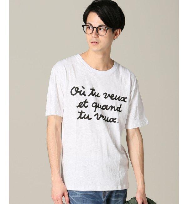 【エディフィス/EDIFICE】 JEAN ANDRE*EDIFICE メッセージTシャツ [送料無料]