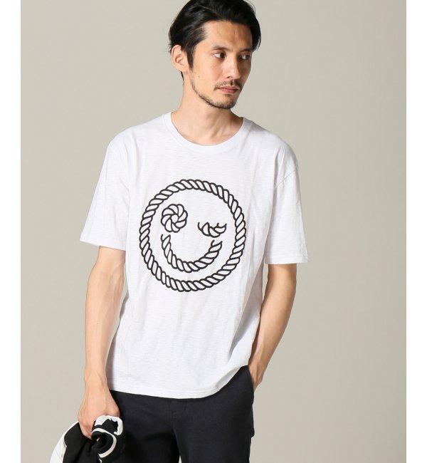 【エディフィス/EDIFICE】 JEAN ANDRE*EDIFICE スマイルTシャツ [送料無料]