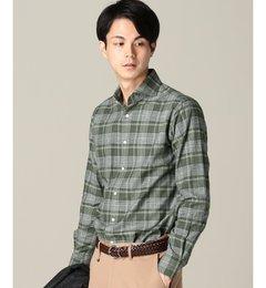 【エディフィス/EDIFICE】 MONTI ヘリンボーン チェック スポーツシャツ [送料無料]