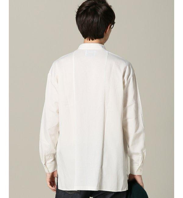 【エディフィス/EDIFICE】 WKED(ウィークエンド) シャンブレーツイルドッキングシャツ [送料無料]