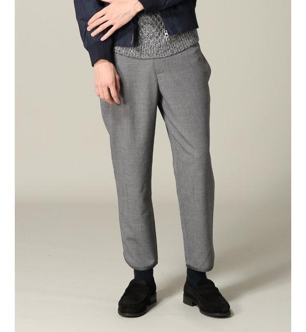 人気ファッションメンズ|【エディフィス/EDIFICE】 WKED(ウィークエンド)ウォッシャブルウールジョグパンツ [送料無料]