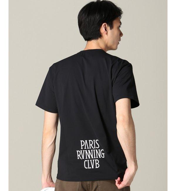 【エディフィス/EDIFICE】 PARIS RUNNING CLUB/ Feel Fit Tシャツ [送料無料]