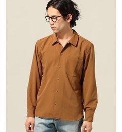 【エディフィス/EDIFICE】 ライトドライギャバ フラットカラーシャツ [送料無料]