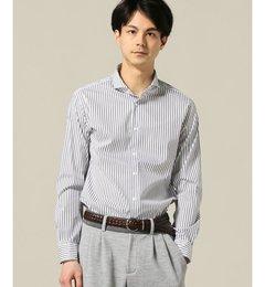 【エディフィス/EDIFICE】SOKTAS/ブルーストライプカッタウェイシャツ[送料無料]
