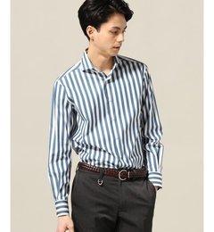 【エディフィス/EDIFICE】 Belesto/SOKTASストライプ スポーツシャツ [送料無料]
