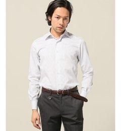 【エディフィス/EDIFICE】セミワイドオルタネートストライプシャツ[送料無料]