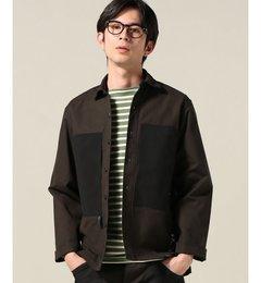 【エディフィス/EDIFICE】MofM1710SNP-SH01キャンバス/3レイヤーシャツ[送料無料]