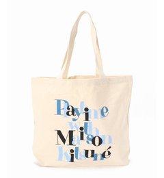【エディフィス/EDIFICE】 MAISON KITSUNE / メゾンキツネ TOTE BAG PLAYTIME [送料無料]