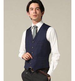【エディフィス/EDIFICE】ブルーストライプジレ[送料無料]