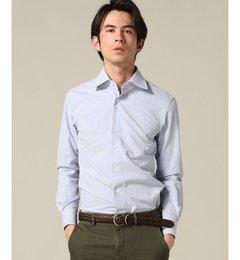 【エディフィス/EDIFICE】セミワイドシアサッカーシャツ[送料無料]