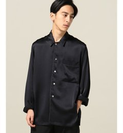 【エディフィス/EDIFICE】AILEシルクサテンパジャマシャツ[送料無料]