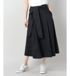 【エディフィス/EDIFICE】【PULP】カットオフラップスカート[送料無料]