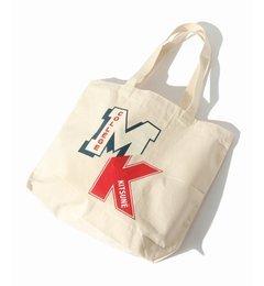 【エディフィス/EDIFICE】 MAISON KITSUNE / メゾンキツネ: TOTE BAG MK COLLEGE [送料無料]