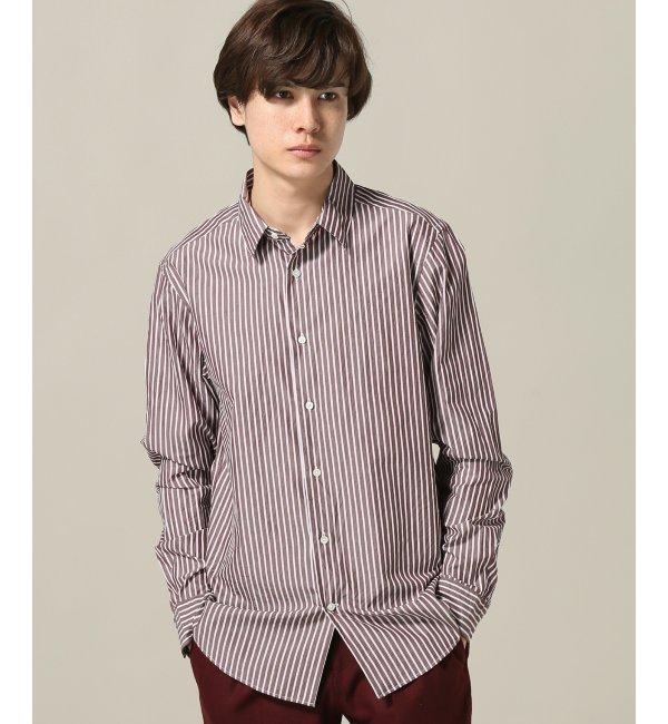 【エディフィス/EDIFICE】 120/2 ブロードストライプシャツ [送料無料]